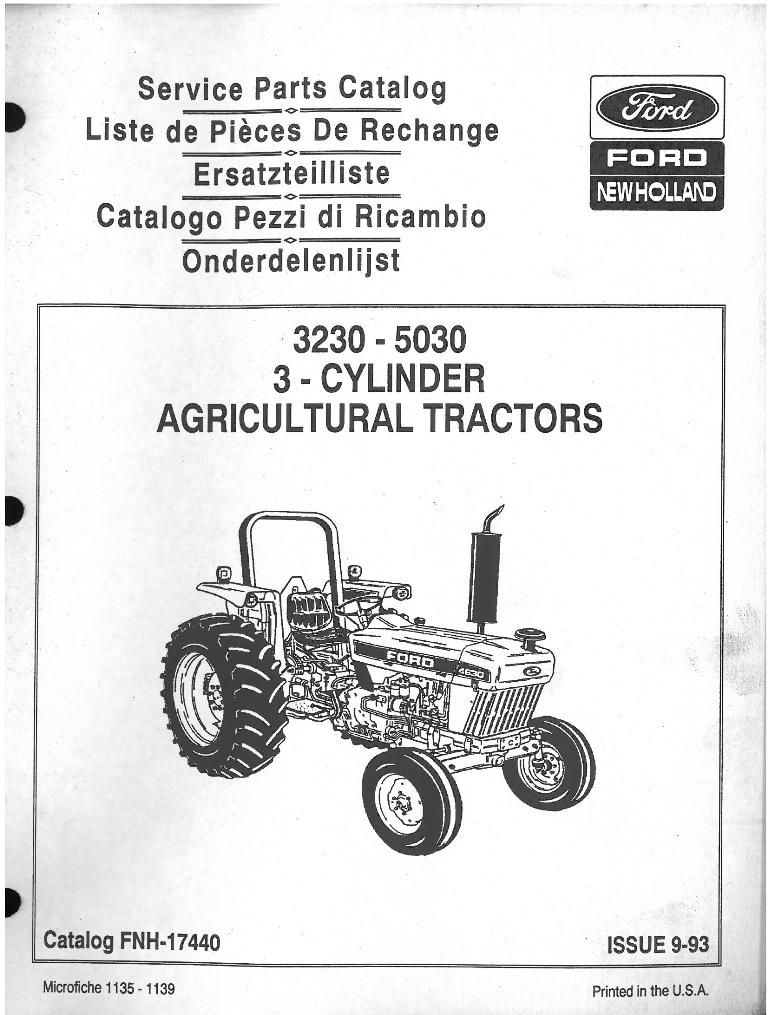 3930 ford tractor parts diagrams